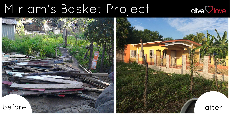 #TestimonyThursday: Miriam's Basket Progress