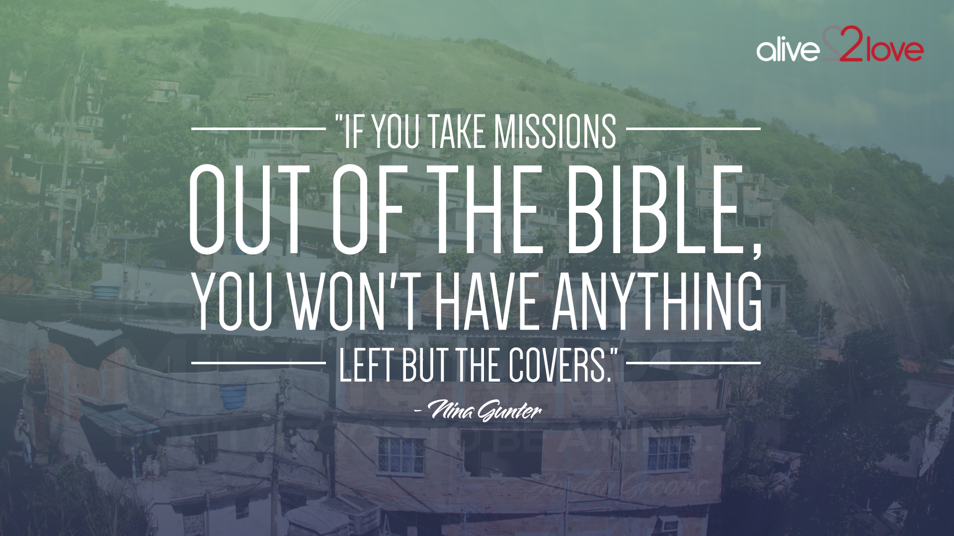 Is Missions in the Bible?